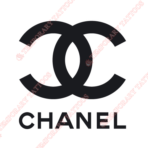 Chanel Customize Temporary Tattoos Stickers NO.2093