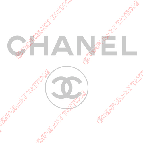Chanel Customize Temporary Tattoos Stickers NO.2095