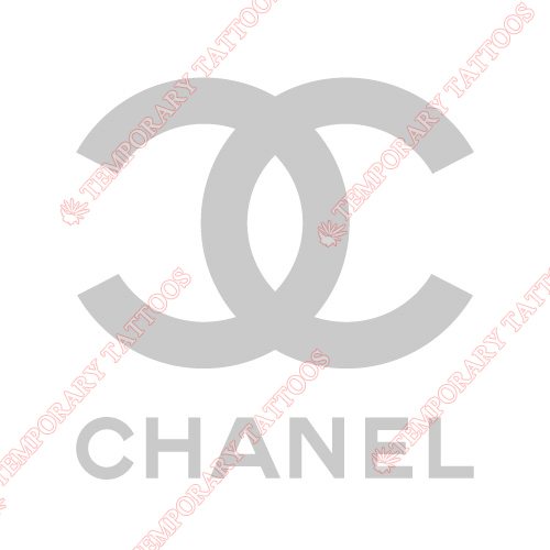 Chanel Customize Temporary Tattoos Stickers NO.2096