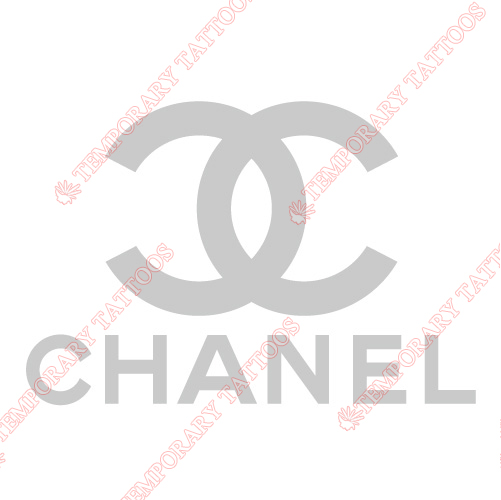 Chanel Customize Temporary Tattoos Stickers NO.2097