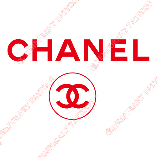 Chanel Customize Temporary Tattoos Stickers NO.2098