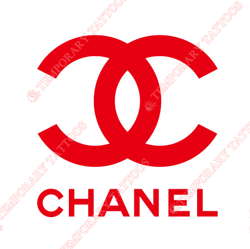 Chanel Customize Temporary Tattoos Stickers NO.2099