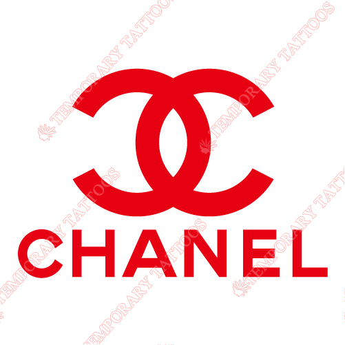 Chanel Customize Temporary Tattoos Stickers NO.2100