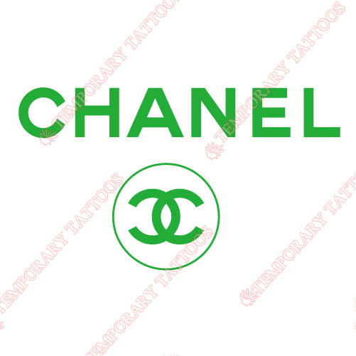 Chanel Customize Temporary Tattoos Stickers NO.2101