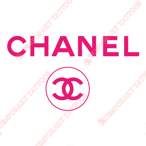 Chanel Customize Temporary Tattoos Stickers NO.2104