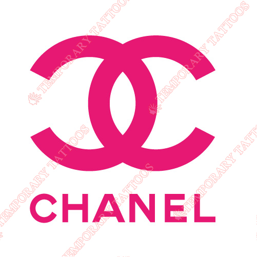 Chanel Customize Temporary Tattoos Stickers NO.2105