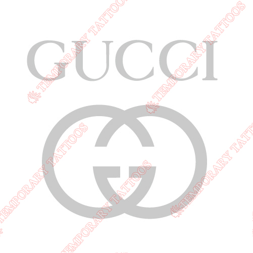Gucci Customize Temporary Tattoos Stickers NO.2107
