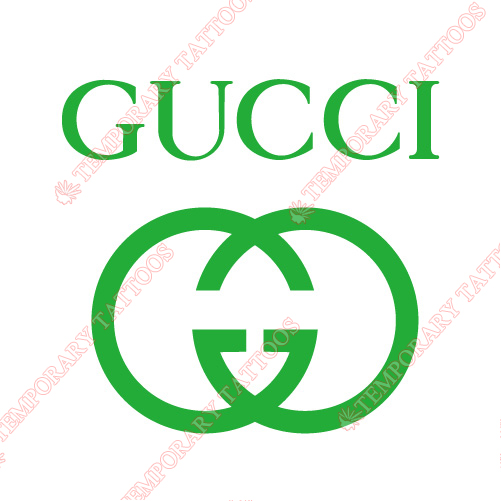 Gucci Customize Temporary Tattoos Stickers NO.2109