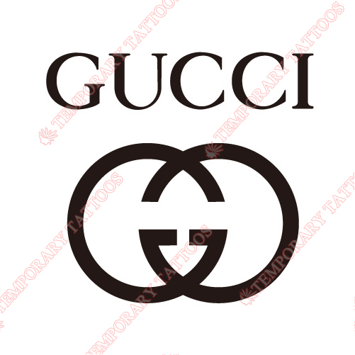 Gucci Customize Temporary Tattoos Stickers NO.2111