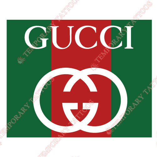 Gucci Customize Temporary Tattoos Stickers NO.2112