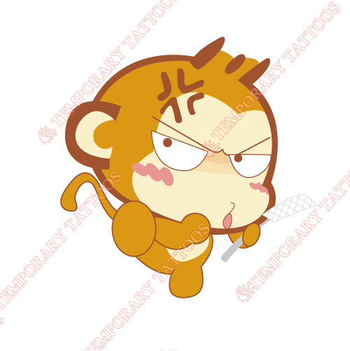 Monkey Customize Temporary Tattoos Stickers NO.8668