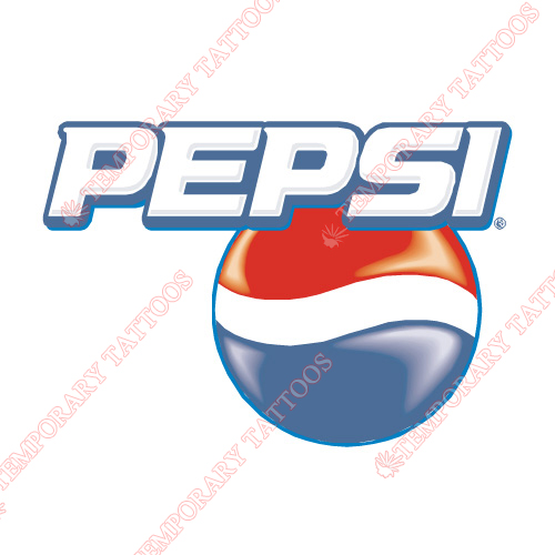 Pepsi Customize Temporary Tattoos Stickers NO.5582