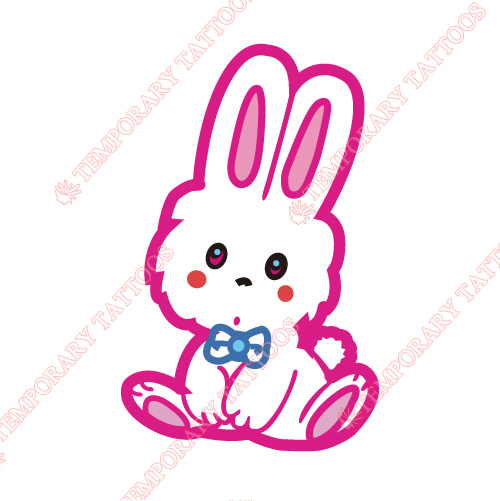 Rabbit Customize Temporary Tattoos Stickers NO.8943