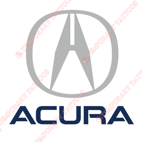 ACURA_1 Customize Temporary Tattoos Stickers NO.2025