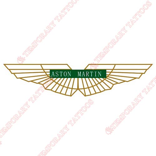 AstonMartin Customize Temporary Tattoos Stickers NO.2027