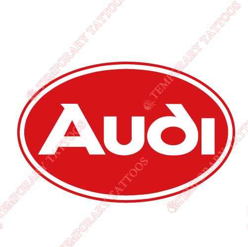 Audi Customize Temporary Tattoos Stickers NO.2028