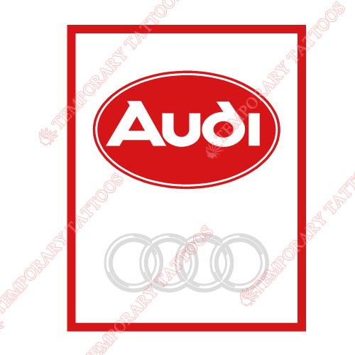 Audi_1 Customize Temporary Tattoos Stickers NO.2029