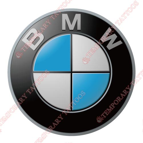 BMW Customize Temporary Tattoos Stickers NO.2031