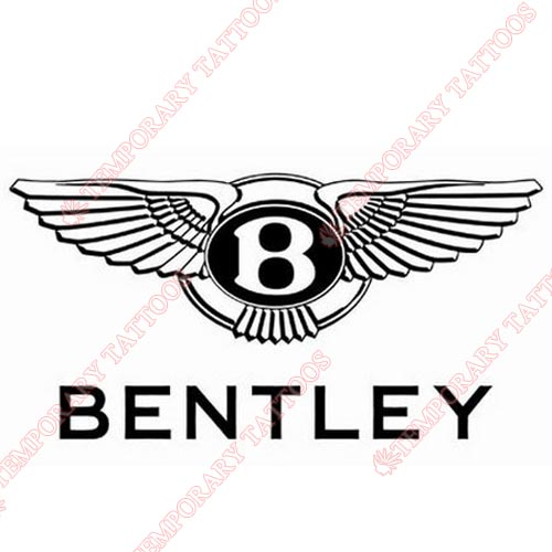 Bentley Customize Temporary Tattoos Stickers NO.2030