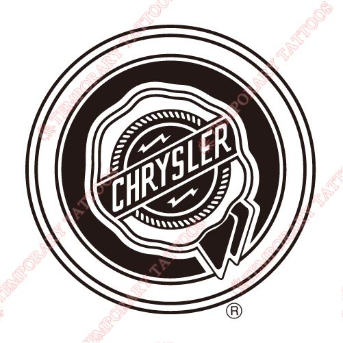 Chrysler_1 Customize Temporary Tattoos Stickers NO.2038