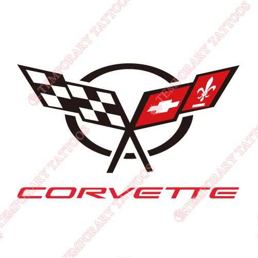Corvette_1 Customize Temporary Tattoos Stickers NO.2041