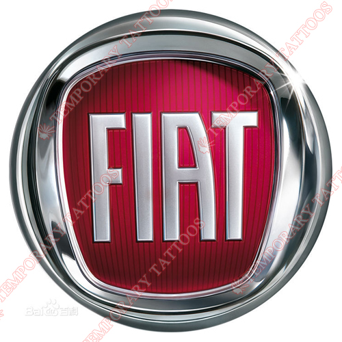 FIAT Customize Temporary Tattoos Stickers NO.2045
