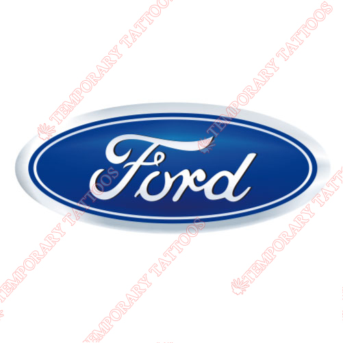 Ford Customize Temporary Tattoos Stickers NO.2046