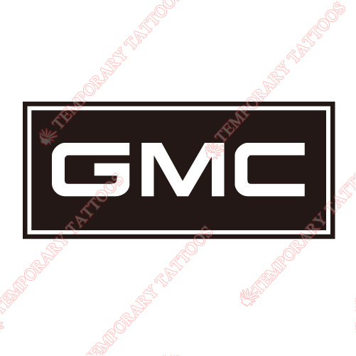 GMC Customize Temporary Tattoos Stickers NO.2048