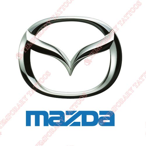 Mazda Customize Temporary Tattoos Stickers NO.2067
