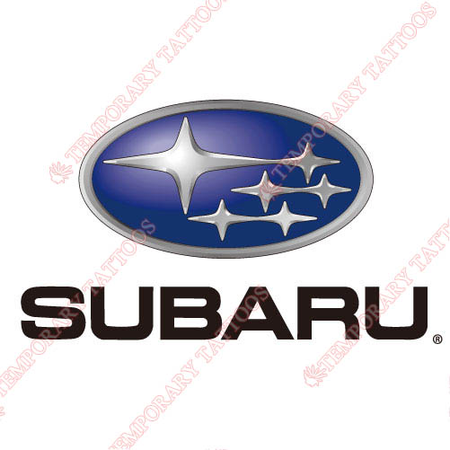 Subaru Customize Temporary Tattoos Stickers NO.2080
