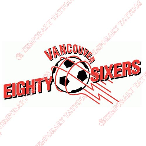 Vancouver 86ers Customize Temporary Tattoos Stickers NO.8519