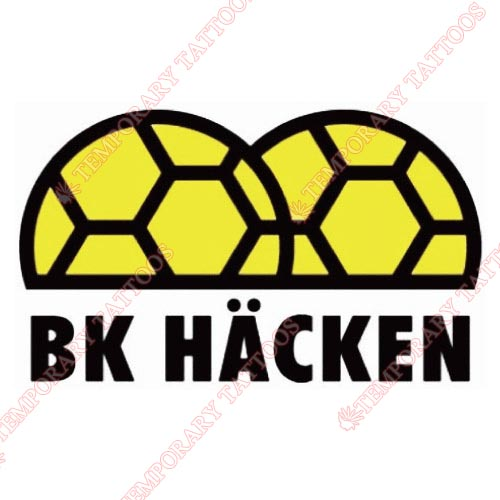 BK Hacken Customize Temporary Tattoos Stickers NO.8260