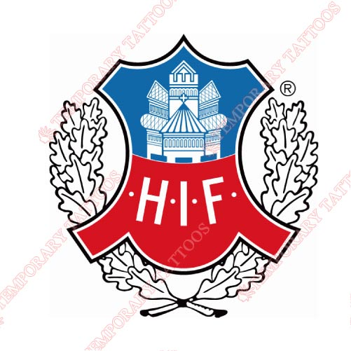 Helsingborgs IF Customize Temporary Tattoos Stickers NO.8352