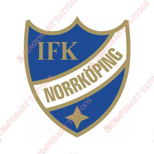 IFK Norrkoping Customize Temporary Tattoos Stickers NO.8363