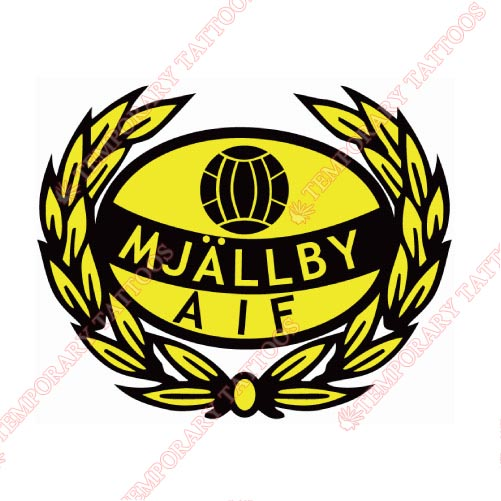 Mjallby AIF Customize Temporary Tattoos Stickers NO.8395