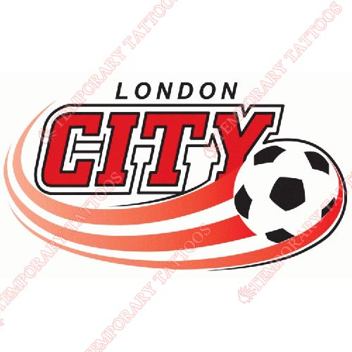 London City S.C Customize Temporary Tattoos Stickers NO.8381
