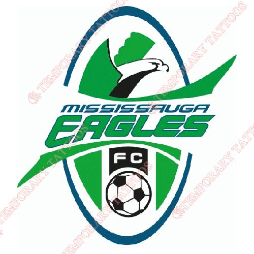 Mississauga Eagles FC Customize Temporary Tattoos Stickers NO.8394