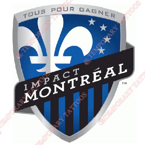 Montreal Impact Academy Customize Temporary Tattoos Stickers NO.8398