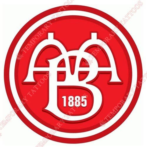 AaB Fodbold Customize Temporary Tattoos Stickers NO.8222