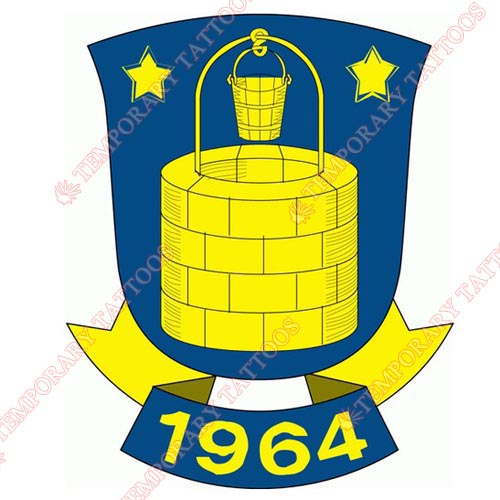 Brondby IF Customize Temporary Tattoos Stickers NO.8267