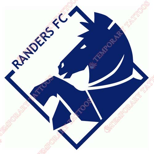 Randers FC Customize Temporary Tattoos Stickers NO.8443