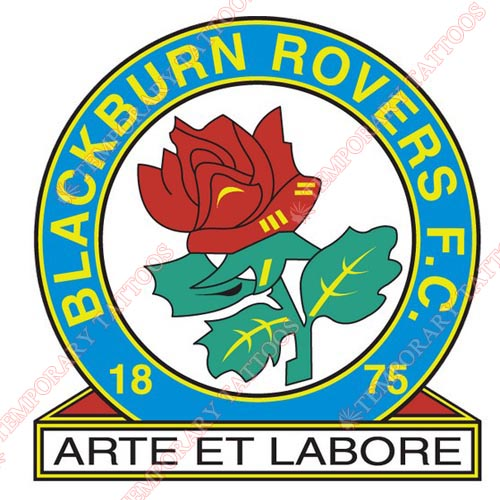 Blackburn Rovers Customize Temporary Tattoos Stickers NO.8261