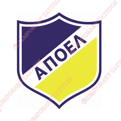 APOEL Customize Temporary Tattoos Stickers NO.8238