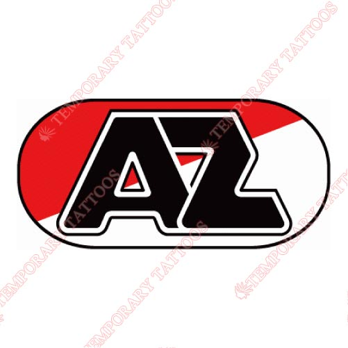 AZ Alkmaar Customize Temporary Tattoos Stickers NO.8255
