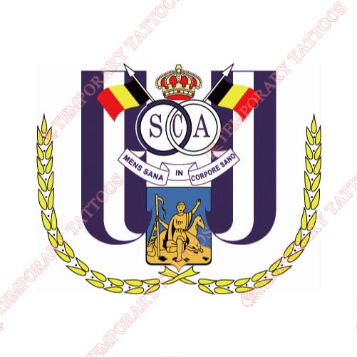 Anderlecht Customize Temporary Tattoos Stickers NO.8235