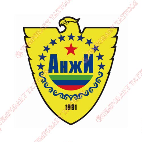 Anzhi Makhachkala Customize Temporary Tattoos Stickers NO.8236