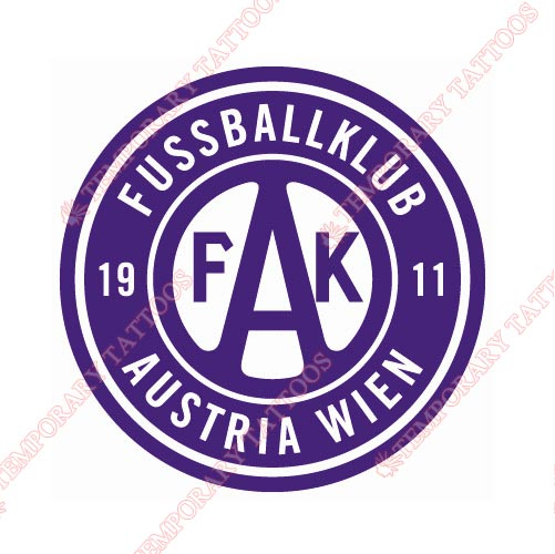 Austria Wien Customize Temporary Tattoos Stickers NO.8253