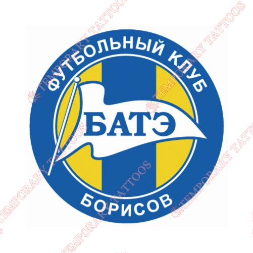 BATE Borisov Customize Temporary Tattoos Stickers NO.8256