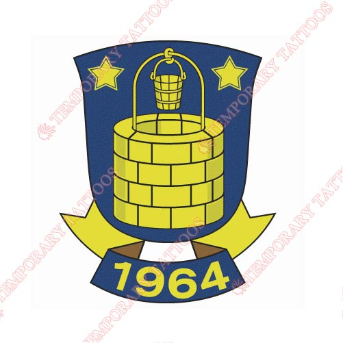 Brondby IF Customize Temporary Tattoos Stickers NO.8268