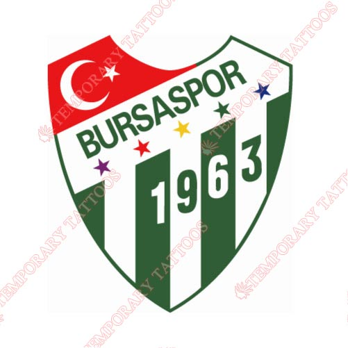 Bursaspor Customize Temporary Tattoos Stickers NO.8270